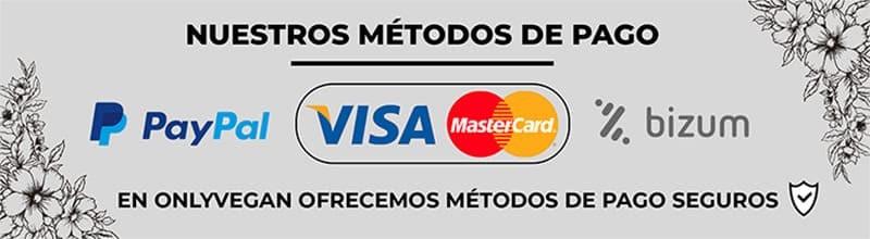Métodos de pago Onlyvegan